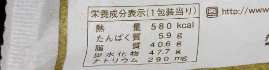 コンビニパンだ_48層のドーナツ(つぶあん)【サークルKサンクス】_カロリー表示00