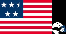 コンビニパンダ_アメリカ国旗_4.5