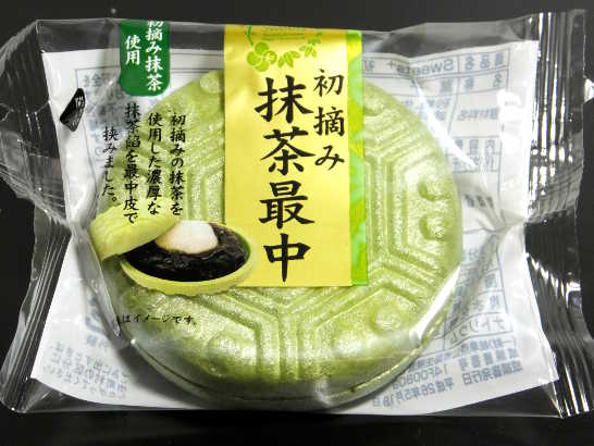 コンビニパンだ_初摘み抹茶最中【ファミリーマート】_外観00