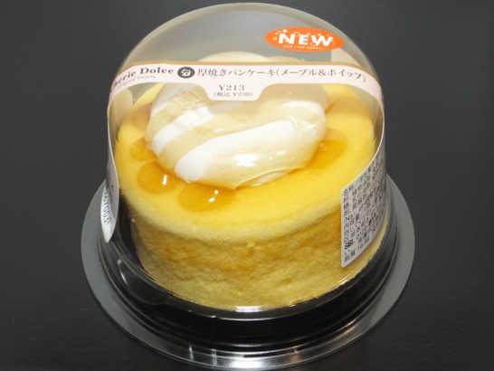 コンビニパンだ_厚焼きパンケーキ(メープル&ホイップ)【サークルKサンクス】_外観00
