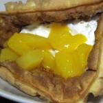 マンゴーとバナナのチーズクリームワッフル【サークルKサンクス】