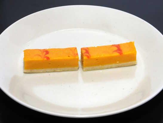 コンビニスイーツだ_かぼちゃのチーズケーキ【サークルKサンクス】_中身03