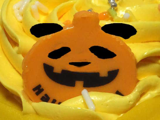 コンビニスイーツだ_パンプキンカップケーキ(ハロウィン)【ローソン】_パンダ02