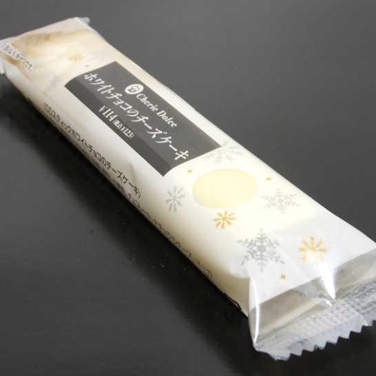 コンビニスイーツだ_ホワイトチョコのチーズケーキ【サークルKサンクス】_外観00