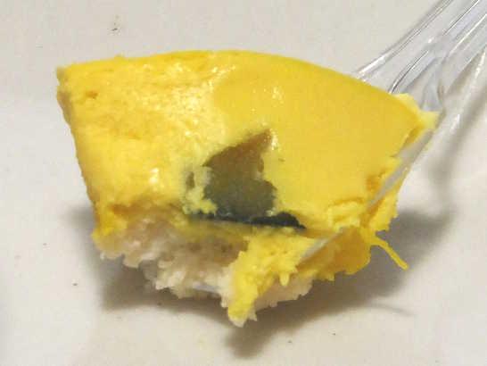 コンビニスイーツだ_しっとりかぼちゃのチーズケーキ【ファミリーマート】_中身03