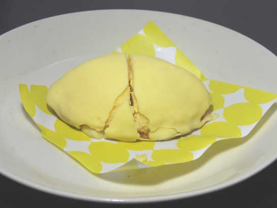 コンビニスイーツだ_スプーンで食べるレモンケーキ【ローソン】_中身02