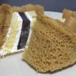 ホイップクリームをはさんだシベリア(黒糖風味の薄皮包み)【サークルKサンクス】