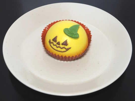 コンビニスイーツだ_ハロウィンかぼちゃのムースケーキ【セブンイレブン】中身00