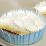 3層仕立てのチーズケーキ(ブルーベリーソース入り)【ファミリーマート】