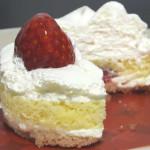 苺のショートケーキ 2層仕立て【ローソン】