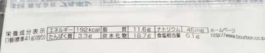 コンビニスイーツだ_ガトーショコラ【ファミリーマート】カロリー原材料表示00