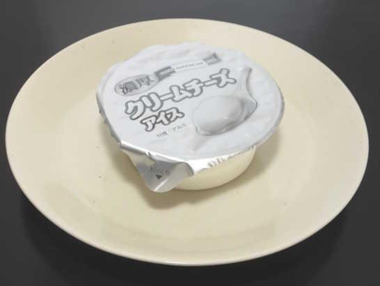 濃厚クリームチーズアイス【ローソン ロッテ】外観01