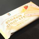 ホワイトチョコ&ストロベリーモナカ【セブンイレブン】