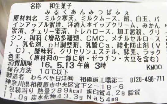 コンビニスイーツだ_みるくあんみつぱふぇ【セブンイレブン】カロリー原材料表示00