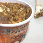 塩バニラ&キャラメルソース【セブンイレブン】