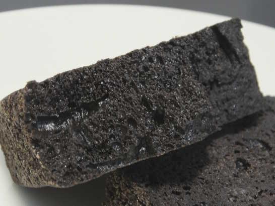 コンビニスイーツだ_RIZAPふんわり食感チョコチップケーキ【ファミリーマート】中身04