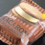 マカロンアイスクリーム チョコレート【セブンイレブン】