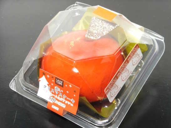 コンビニスイーツだ_赤いクリスマスケーキ(ベリームース&ガナッシュ)【ローソン】外観00