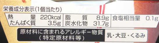 コンビニパンだ_和もちアイス【ローソン】カロリー原材料表示01