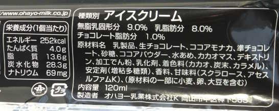 コンビニパンだ_生チョコモナカスペシャル【ファミリーマート】カロリー原材料表示00