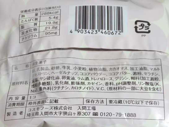 コンビニパンだ_チョコレートシュークリーム【ローソン】カロリー原材料表示00