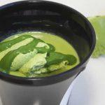 スプーンで食べるとろ生食感ショコラ宇治抹茶【セブンイレブン】