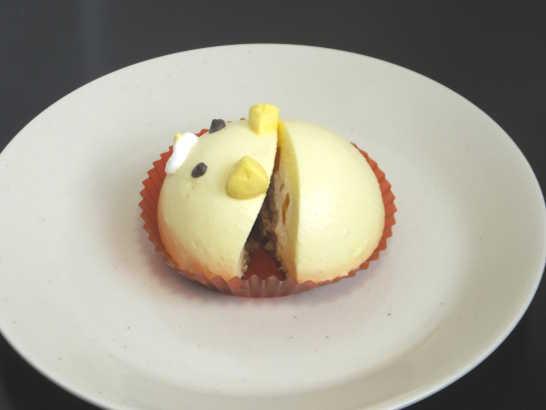コンビニスイーツだ_ねこちゃんマンゴーのムースケーキ【セブンイレブン】中身02