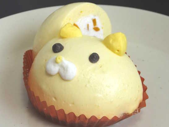 コンビニスイーツだ_ねこちゃんマンゴーのムースケーキ【セブンイレブン】中身04