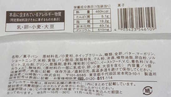 コンビニパンだ_塩バターメロンパン ホイップクリーム【ローソン】カロリー原材料表示00