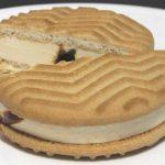 バターが贅沢に香るクッキーサンド 塩キャラメル【セブンイレブン】